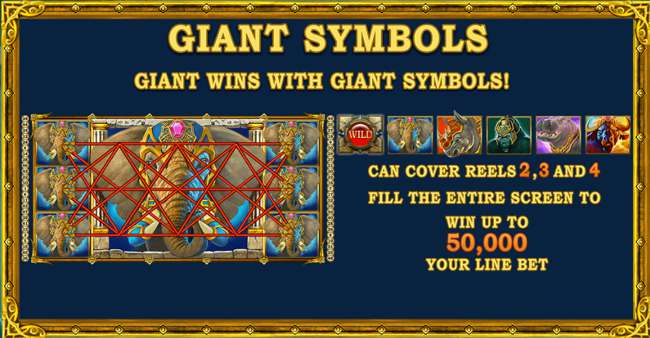 Jungle Giants Giant Symbols