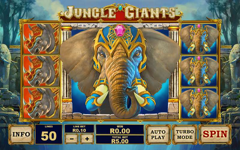 Jungle Giants – A New Slot Game from Playtech