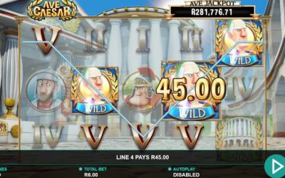 Ave Caesar Slot Game from Leander Games