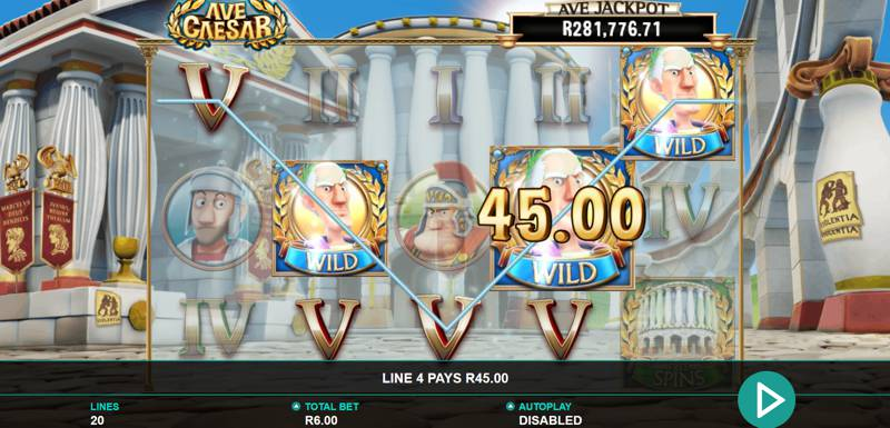 Ave Caesar Slot Game