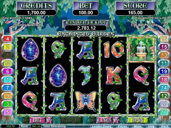 Enchanted Garden Slot Game