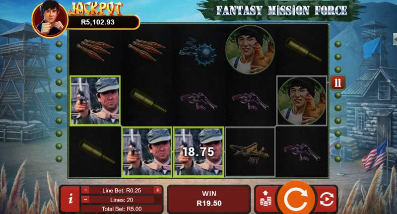 Fantasy Mission Force Slot Game Review
