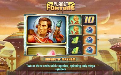 Planet Fortune Slots Game from Play'nGo