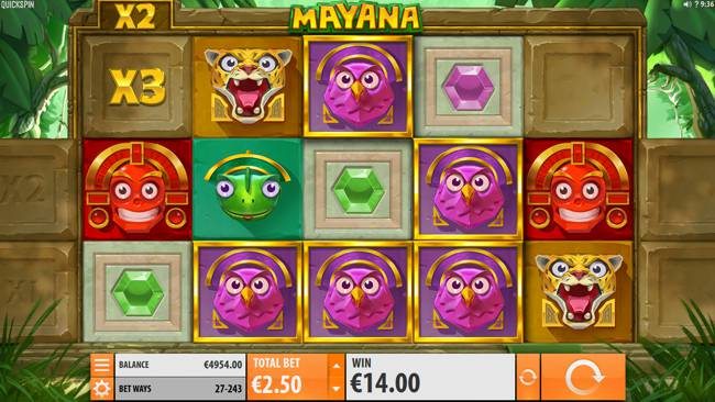 Mayana Video Slot Game