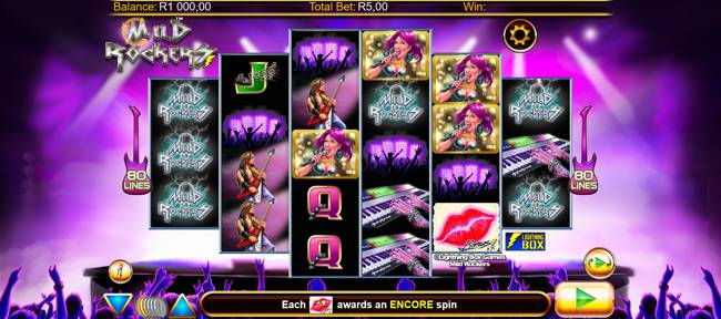 Mild Rockers Video Slot Game