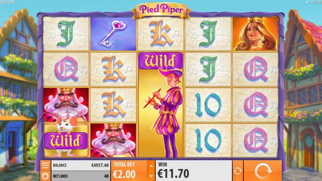 Pied Piper Slot Win