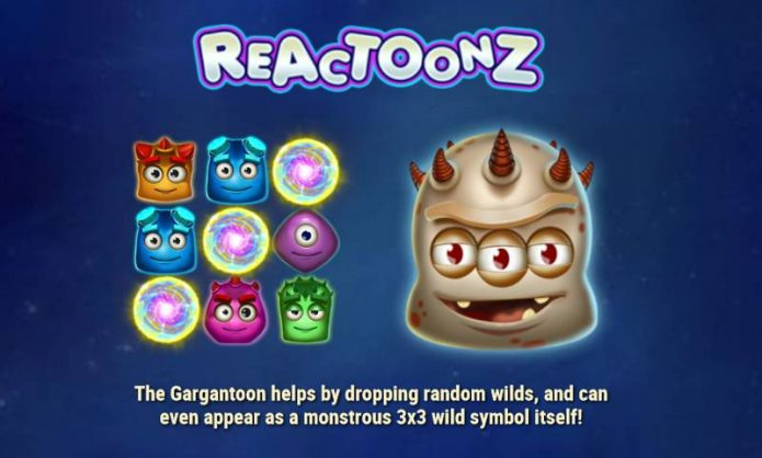 Reactoonz Slot Game