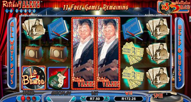 Ritchie Valens Slot Feature