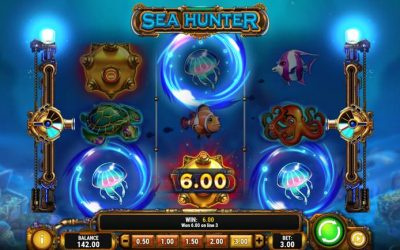 Sea Hunter Video Slot Game From Play'nGo