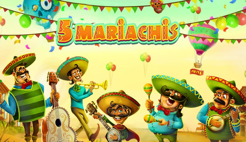 The 5 Mariachis Are Playing at an Online Casino Near You