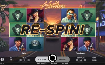 Hotline Video Slot Embraces Crime Dramas from the 1980's