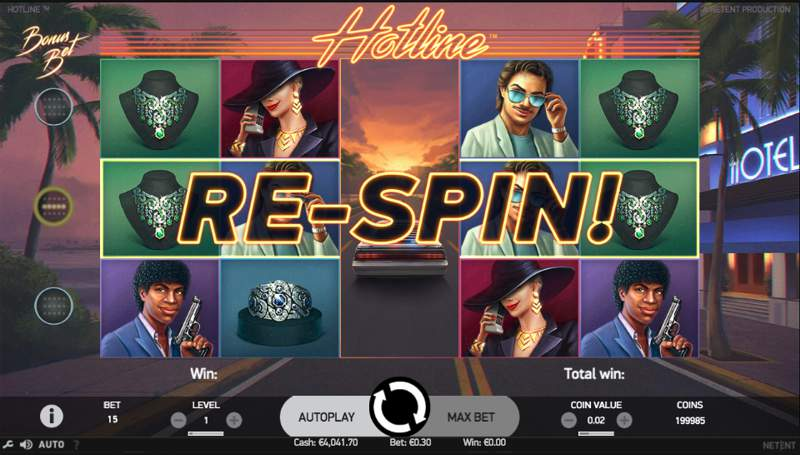 Hotline Video Slot