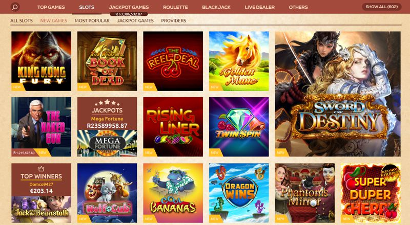 QueenVegas Casino Games