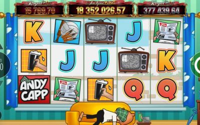 Andy Capp Cartoon Is Brought to Life in This Entertaining Slot Game