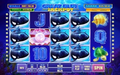 Great Blue Jackpot Slot Game from Playtech