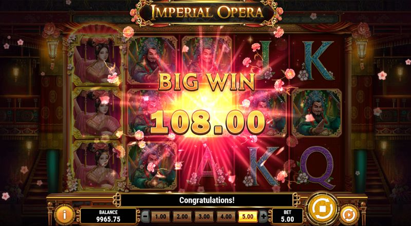 Imperial Opera Slot Big Win