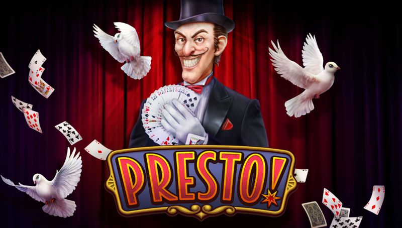 Presto! a Magical Themed Video Slot Game