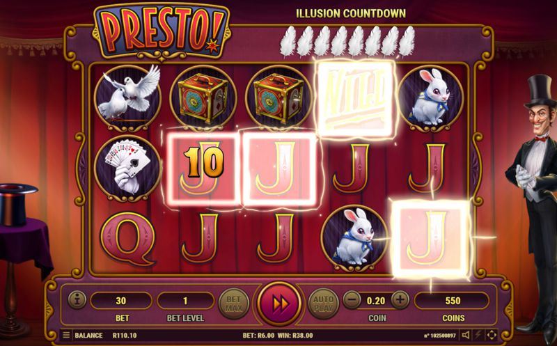 Presto! Video Slot Game