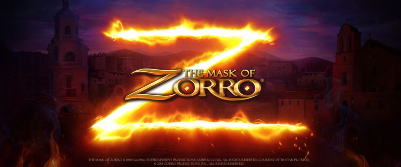 The Mask of Zorro Video Slot Game from Playtech