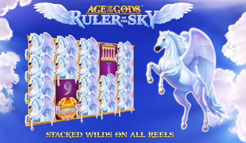 Age of the Gods: Ruler of the Sky Slot Review