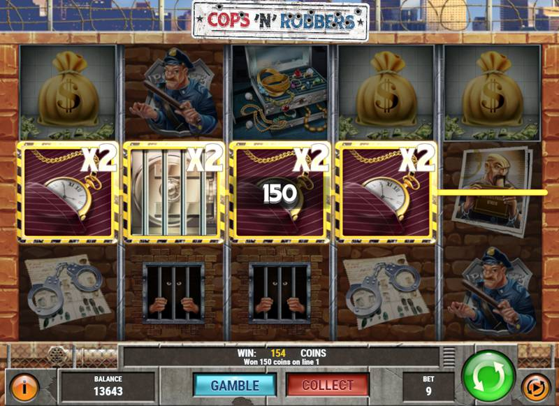 Cops 'N' Robbers Slot Game from Play'n Go