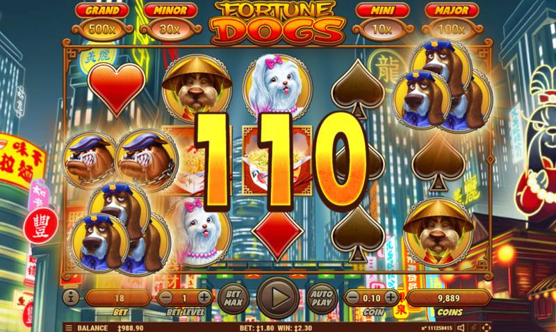Fortune Dogs Slot Free Spins