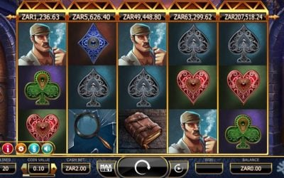 Holmes and the Stolen Stones Slot Now Available to SA Players