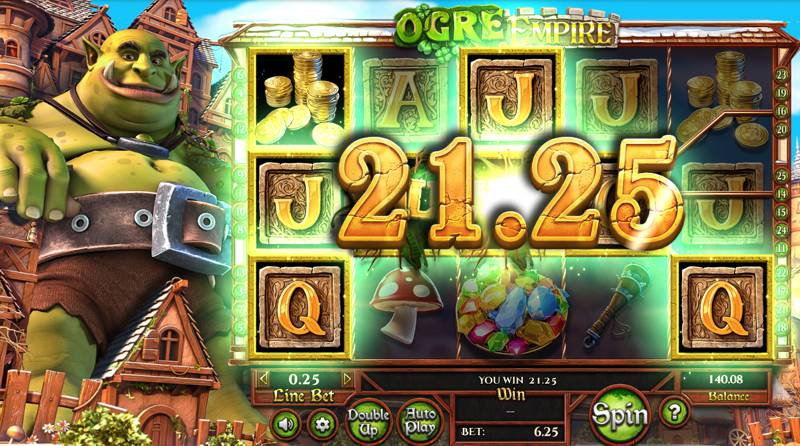Ogre Empire Slot Game from Betsoft Stomps into Town