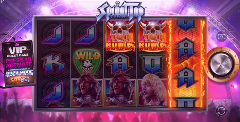 Spinal Tap Slot Game is Heavy Metal on Spinning Reels