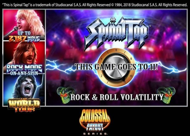 Spinal Tap Slot Game