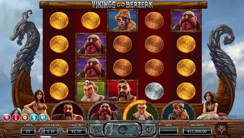 Vikings Go Bezerk Video Slot