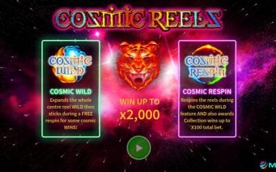 Cosmic Reels is a New Slot Game from Leander Gaming