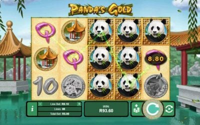 Panda's Gold is a New Slot Game from Realtime Gaming