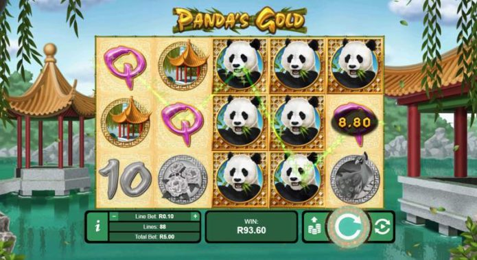Panda's Gold Slot Game
