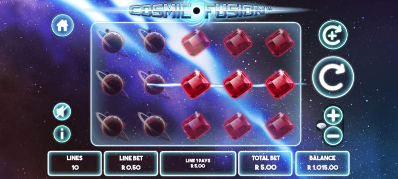 Cosmic Fusion is a New Slot Game from Leander Gaming