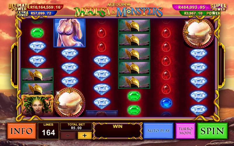 Age of the Gods: Medusa and Monsters Slot Review