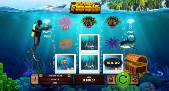 Scuba Fishing Slot Game