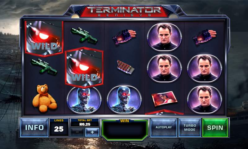 Terminator Genisys is a New Slot Game from Playtech