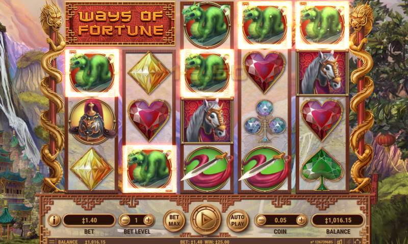 Ways of Fortune Slot Game Win