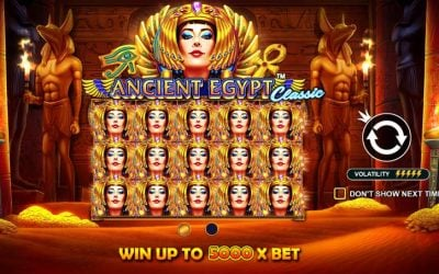Ancient Egypt Classic Slot Game from Pragmatic Play