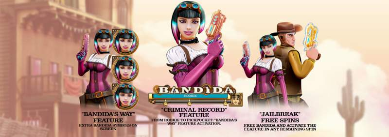 Bandida is a Badass New Wild West Slot Game
