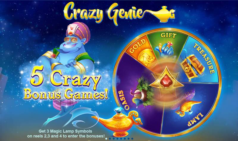 Crazy Genie Slot Game from Red Tiger Gaming