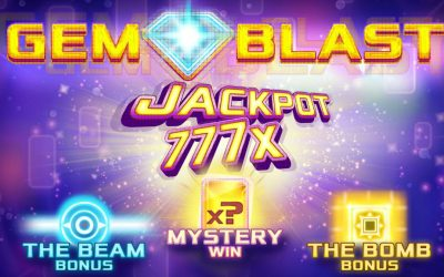 Gem Blast is a Fun New Slot from Cayetano Gaming