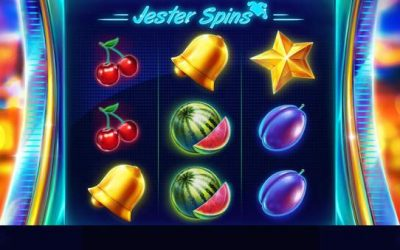 Jester Spins is a Three Reel Slot from Red Tiger Gaming