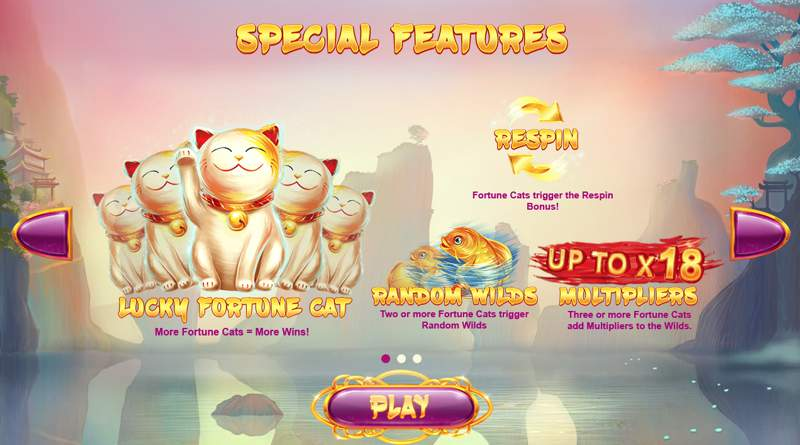 Lucky Fortune Cat Slot Game for the Feline Fans