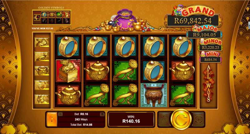 Plentiful Treasure Slot Game