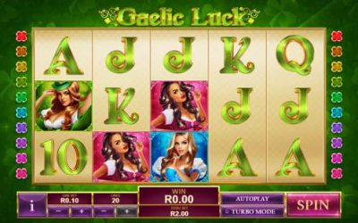 Gaelic Luck Slot Game from Playtech
