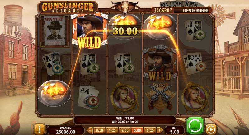 Gunslinger:Reloaded Slot