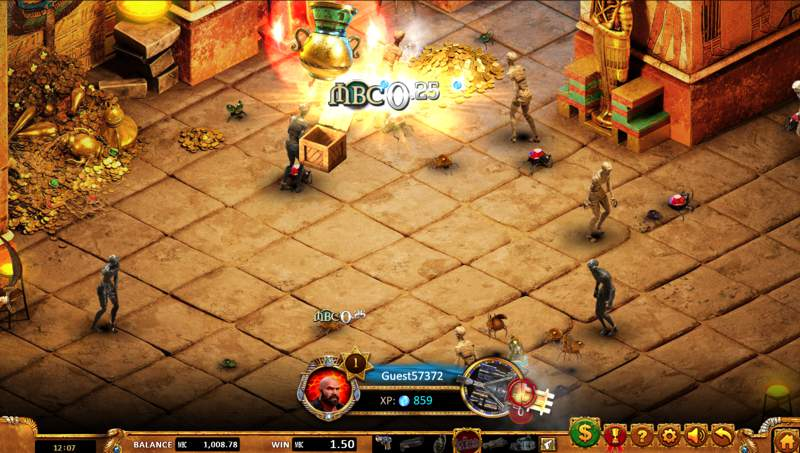 Max Quest: Wrath of Ra Slot Game