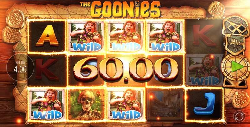 The Goonies: Never Say Die Slot Win